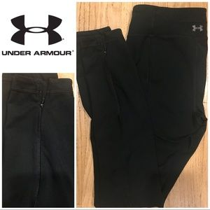 Under Armour black low waist tight fit leggings S